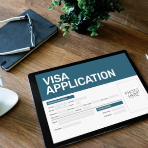 Online Visa application starts in Japan.